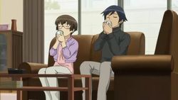 【俺の妹がこんなに可愛いわけがない 第11話】麻奈美と京介