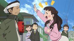【みつどもえ 増量中! 第8話(最終回)】杉崎ママ