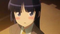 【俺の妹がこんなに可愛いわけがない 第13話】黒猫